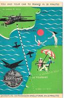En Voiture De France En Angleterre En 20 Minutes Silver City Airways LTD - Le Touquet