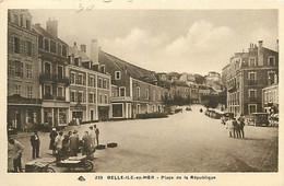 56 BELLE ISLE EN MER -  LA PLACE DE LA REPUBLIQUE - Belle Ile En Mer