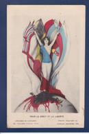 CPA Kirchner Raphael Art Nouveau Femme Woman Non Circulé WWI Guerre War Voir Dos - Kirchner, Raphael