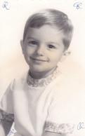 Old Real Original Photo - Portrait Of A Little Boy - Shot In Sofia - Ca.14x9 Cm - Persone Anonimi