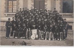 MONTARGIS : Carte Photo D'une Fanfare Militaire En 1908 - Très Bon état - Sin Clasificación