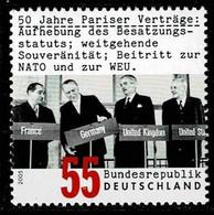 Bund 2005,Michel# 2459 ** 50 Jahre Pariser Verträge - Unused Stamps