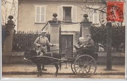 SAINT MAUR DES FOSSES : Carte Photo D'un Attelage Vers 1910 - Très Bon état - Sin Clasificación