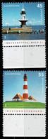 Bund 2005,Michel# 2473 - 2474 ** Leuchttürme - Unused Stamps