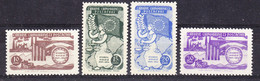 Turkey 1954 Council Of Europe 4v ** Mnh (52068) - European Ideas