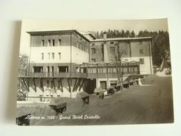 ABETONE GRAND  HOTEL CRISTALLO PISTOIA   NON   VIAGGIATA  COME DA FOTO - Hotels & Restaurants
