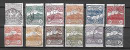 Saint-Marin YT N° 35/45 Oblitérés. B/TB. A Saisir! - Used Stamps