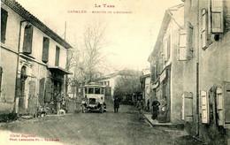 CADALEN  =  Arrivée De L' Autobus      2371 Bis - Cadalen