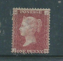 Great Brittan1858 -79, 1d Red, SG No 43 Or 44plate 175 Unused, No Gum, No Cancel - Unused Stamps