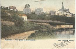 WALCOURT : Vue Prise De La Fenderie - Cachet De La Poste 1906 - Walcourt