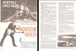 "REPORTAGE "" MONSIEUR ROCK ""  ""  HALLYDAY / VINCE TAYLOR / BILL HALEY  ""  1961 - Other"