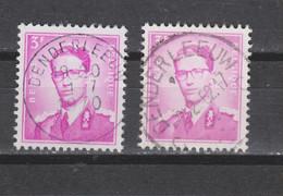 COB 1067 Centraal Gestempeld Oblitération Centrale DENDERLEEUW - 1953-1972 Glasses
