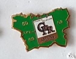 Pin' S  Ville, FRANCE  TELECOM  C F R  AMIENS  ( 80 ) - Telecom Francesi