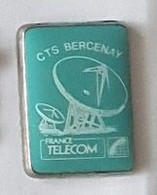 Pin' S  Ville, FRANCE  TELECOM  C T  S  BERCENAY  ( 10 ) - Telecom Francesi