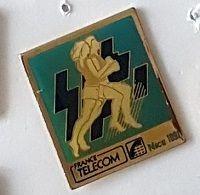 Pin' S  Sport  Athlétisme, Ville, FRANCE  TELECOM  NICE  1991  ( 06 ) - Telecom Francesi