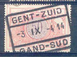 A315 Belgie Spoorwegen Met Stempel GENT ZUID  GAND SUD - 1895-1913