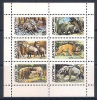 Dinosaurs - Prehistoric Animals [local Issue] - Sheetlet (MNH) - Preistorici