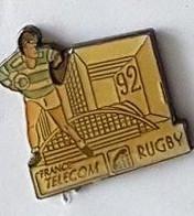 Pin' S  Sport  Rugby, FRANCE  TELECOM  92  RUGBY - Telecom Francesi