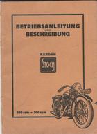 Stock Kardan Betriebsanleitung Moto Entretien Notice Graissage Motorrad Motorcycle - Shop-Manuals