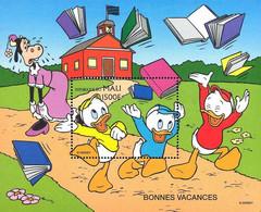 MWD-BK5-315-2 MINT PF/MNH ¤ MALI 1997 BLOCK ¤ GOOD WISHES - WORLD OF WALT DISNEY - FRIENDS OF WALT DISNEY - Disney