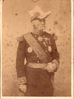 Photo (14 X 10,5 Cm). Général Commandant Un Corps D'armée. Photo L. Cairol, Oran - Non Classificati