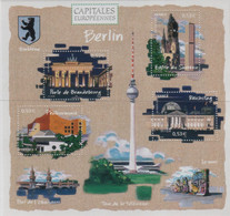 "Idee Europee - 2005 Francia ""Le Capitali Europee - Berlino"" In Foglietto MNH** - European Ideas"