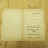 Leuven Katholiek Vlaamsch Studentenverbond 1900 - Autres