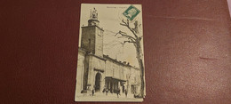 Ancienne Carte Postale - Peyrolles - Place Albert - Peyrolles