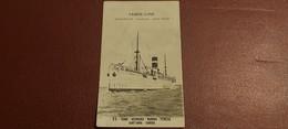 Ancienne Carte Postale - Fabre Line - Marseille,naples,new York - Steamers