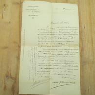 Liège Congrès National Des Ligues Catholiques De Tempérance 1905 L'université Signé L'abbé - Sonstige