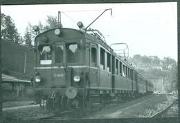 Allemagne Deutschland Deutsche Bundesbahn Photo Train Zug Locomotive Berchtesgaden 08/53 - Treinen