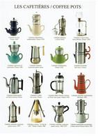 THEME CUISINE / LES CAFETIERES PHC N° 1857 De 2001 Atelier Nouvelles Images / CARTE VIERGE TBE - Autres