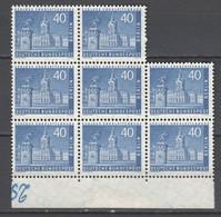 Berlin , Nr 149 , 4 Postfrische Paare ( 120.- ) 2 Senkrecht , 2 Waagerecht - Unused Stamps
