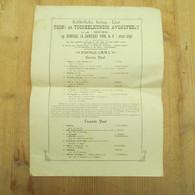 Lier 1906 Toneelkundig Avondfeest - Programmes