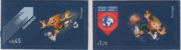 """Idee Europee - 2004 Portogallo """"Europei Di Calcio - Mascotte + Pallone Ufficiale"""" 2v + 1v MNH** - European Ideas"""