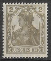 Germany 1918 Germania 2Pf. Michel 102. MLH - Ongebruikt