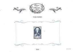 Trésors De La Philatélie 2018 - Bloc Feuillet Voltaire  (BF4) - Nuevos