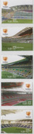 """Idee Europee - 2004 Portogallo """"Europei Di Calcio - Gli Stadi"""" 10v MNH** - European Ideas"""