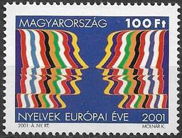2001 Ungarn Magyarorszag Mi. 4642 **MNH    Europäisches Jahr Der Sprachen - European Ideas