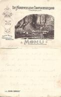 1905 - TRONDHJEM, Original Karte 14X22,5cm Von Schiff S.S.,,KONG HARALD,, Gute Zustand, 2 Scan - Noruega