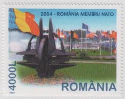 """Idee Europee - 2004 Romania """"Membro Della NATO"""" 1v MNH** - European Ideas"""