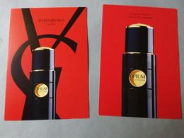 Carte  Yves St Laurent Opium R/V  Avec Patch - Modern (from 1961)