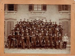 Photo (20,5 X 26 Cm). Officiers Et Sous-officiers Du 15e Bataillon De Chasseurs - Non Classificati