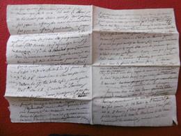 MANUSCRIT PROGRAMME FOIRE COURSE DE TAUREAUX A VAUVERT ET AUTRES CIRCA 1830 - Historische Documenten