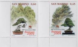 "Idee Europee - 2004 San Marino ""20° Congresso Del Bonsai"" 2v MNH** - European Ideas"