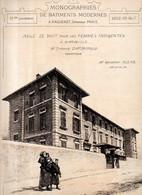 Monographies De Bâtiments Modernes N° 39 : Asile De Nuit Pour Les Femmes Indigentes à Marseille (13) - Architecture