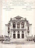 Monographies De Bâtiments Modernes N° 42 : Nouveau Théâtre D'Orange (84) - Architecture