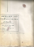 Herlies-plan-bas Du Wailly-193-état Trés Moyen - Other Municipalities