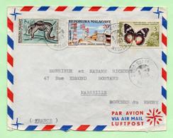Lettre : DIEGO-SUAREZ Pour MARSEILLE - 1963 - - Madagascar (1960-...)