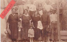 87-SAINT-MARTIAL Sur ISOP-  CARTE-PHOTO-Famille BARTHOMIER - Andere Gemeenten